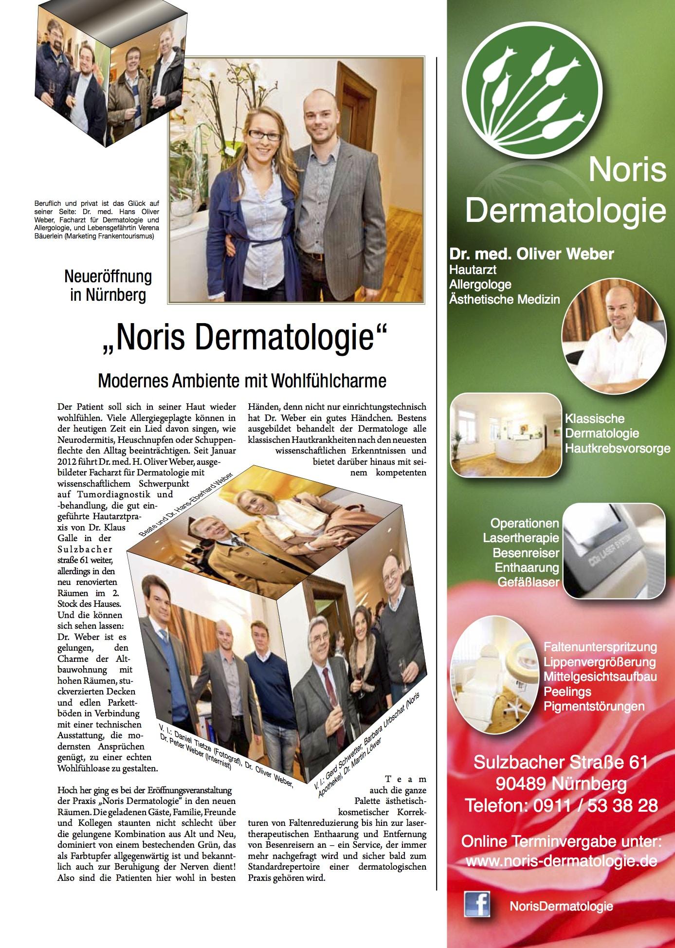 Noris Dermatologie Presse